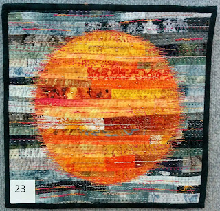 Creates Sew Slow: Creative Construction - Waitarere Sunset by Barbara Freeman