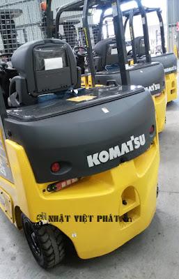 Xe nâng Komatsu chạy điện