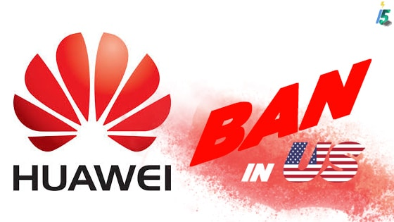 HUAWEI GOT BANNED FROM US