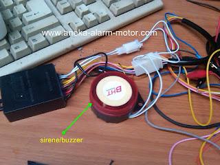 Suara Sirene/Buzzer Alarm Motor Menjadi Kecil dan Kurang Keras