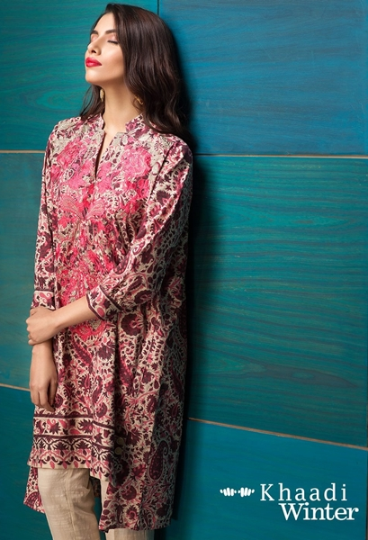 Khaadi Fall-Winter Collection 2016-17 Vol-1 Dresses for Women