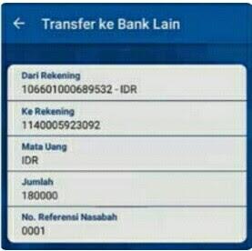 transfer bri ke mandiri syariah lewat bri mobile