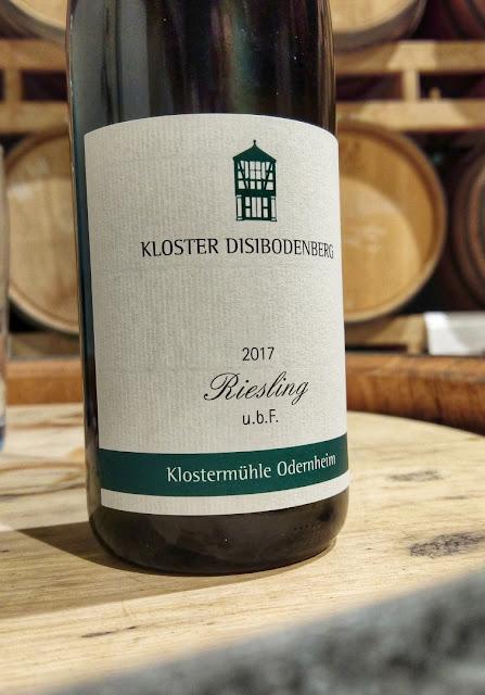 Riesling vom Weingut Klostermühle Odernheim