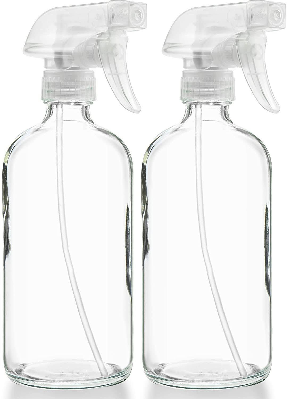 Glass Spray Bottles | Photo via Amazon