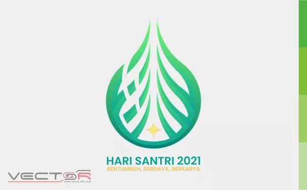 Hari Santri 2021 RMI-NU Logo - Download Vector File CDR (CorelDraw)