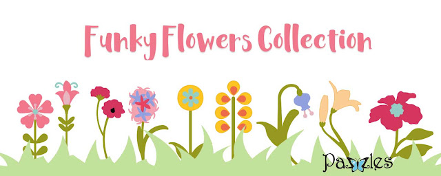 Funky Flower Collection, Funky Flowers, canvas bag, ilove2cutpaper, Pazzles, Pazzles Inspiration, Pazzles Inspiration Vue, Inspiration Vue, Print and Cut, svg, cutting files, templates, Silhouette Cameo cutting machine, Brother Scan and Cut, Cricut