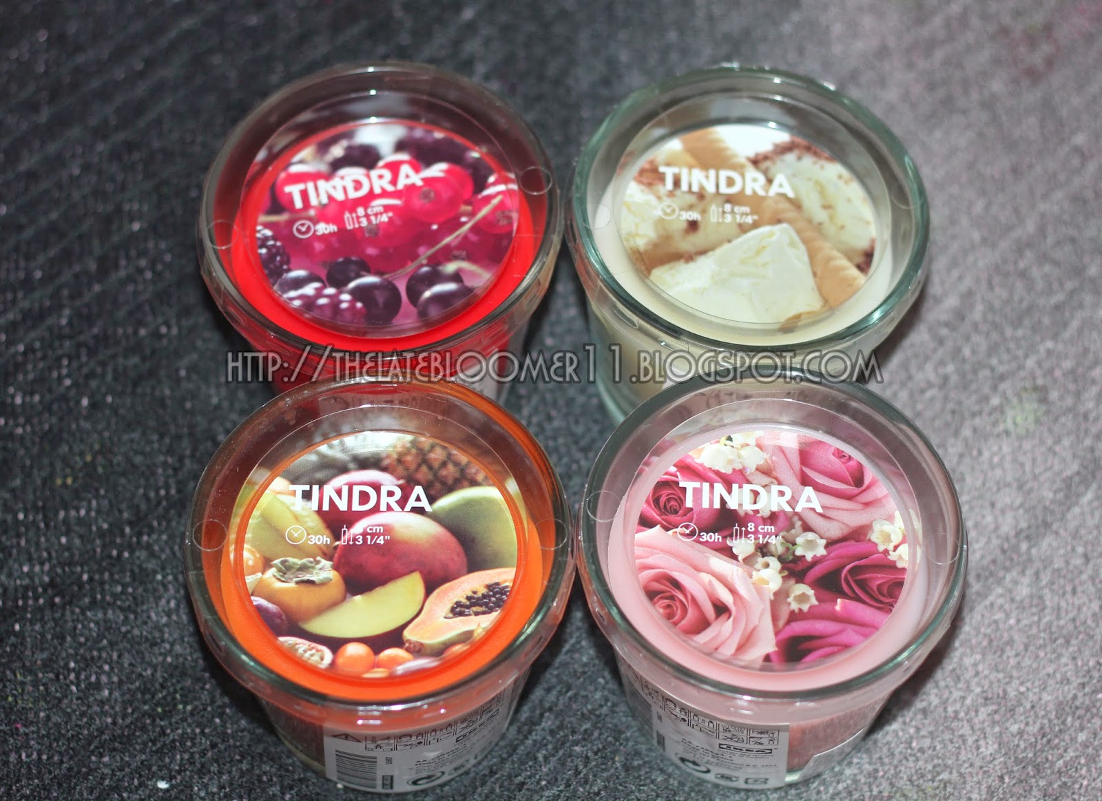 MY NEW FOUND LOVE: IKEA TINDRA SCENTED CANDLES