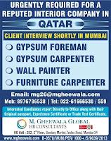 Interior Company Job Vacancy Qatar