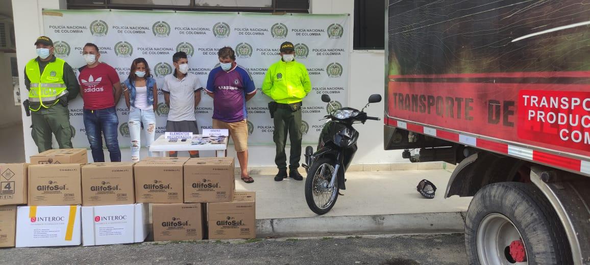 https://www.notasrosas.com/Policía Cesar captura tres hombres y una mujer, por homicidio ocurrido durante un atraco en Aguachica