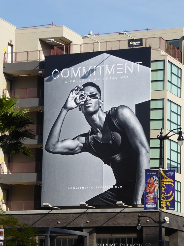 Commitment Collection Equinox billboard