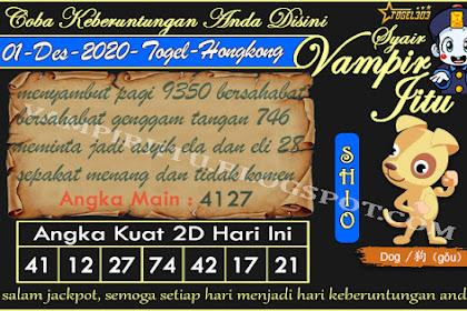 Syair Vampir Jitu Togel Hongkong Selasa 01 Desember 2020