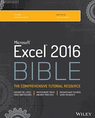 Excel 2016 Bible by John Walkenbach - PDF Free Download
