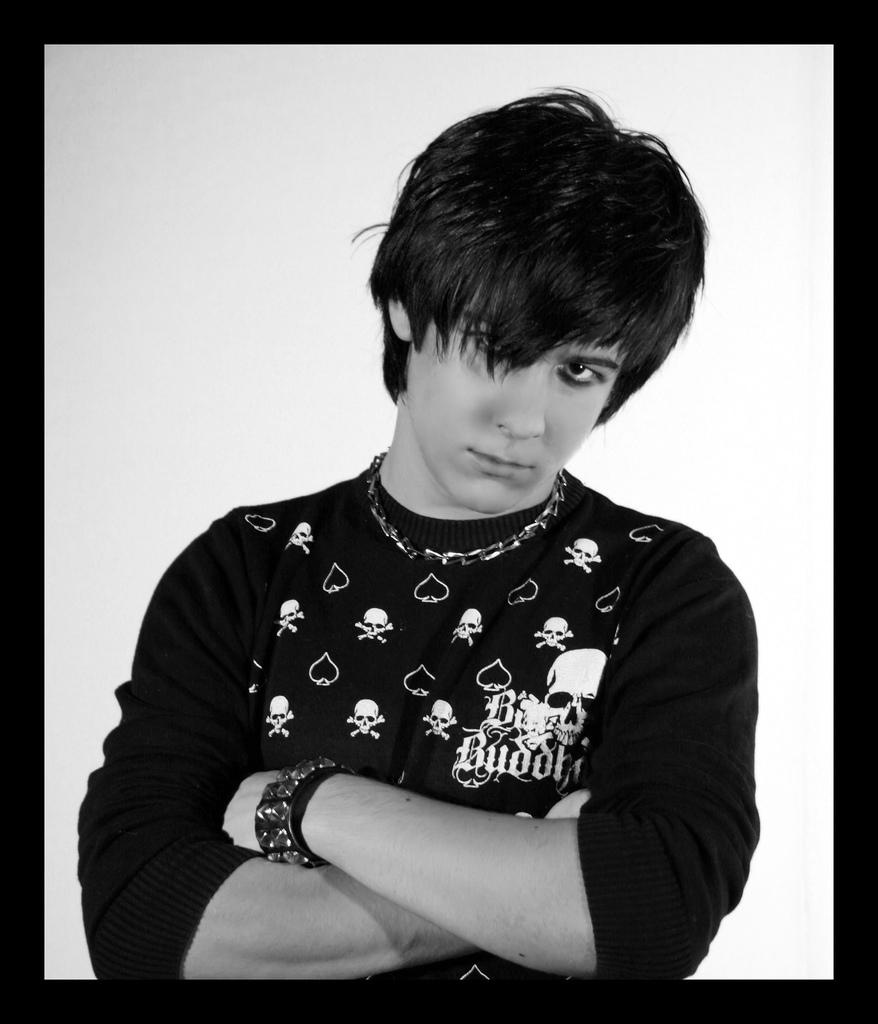 Cool Anime Boy Hairstyles: Emo Haircuts: Fashion For Emo Guys