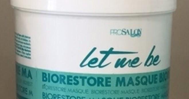 296bc86c1 Máscara Biorestore Let Me Be - TESTADA E APROVADA! - Cabelinho Cabelão