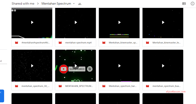 mentahan spectrum music visualizer
