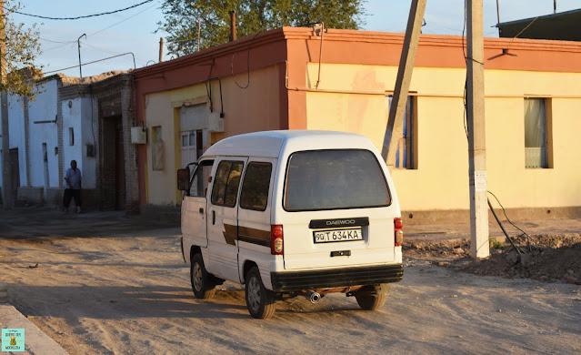 Marshrutka de Uzbekistán