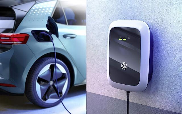 Volkswagen lança carregador doméstico para o ID.3 a € 399