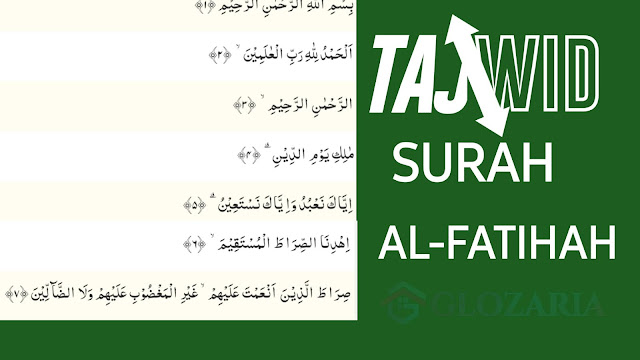 Yuk Mengaji Hukum Bacaan Tajwid Surah Al Fatihah Sangat Lengkap