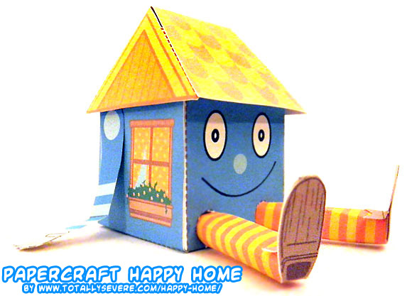 Ninjatoes 39 papercraft weblog literal o papercraft for Paper craft home