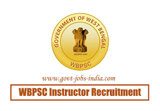 WBPSC Instructor Recruitment 2020