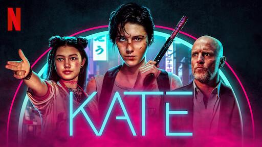 """NUMERO 1 NO 'TOP 10' NETFLIX DA SEMANA: """"KATE"""" - ATRIZ DESPERDIÇADA EM FILME SEM NOVIDADES!!"""