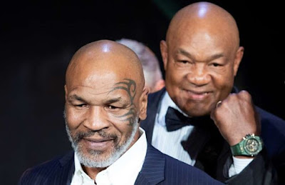 Mike Tyson y George Foreman