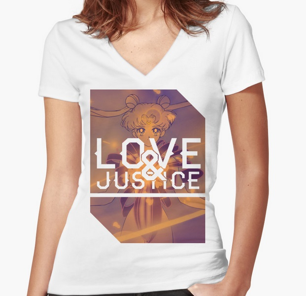 Sailor Moon Love and Justice Shirt