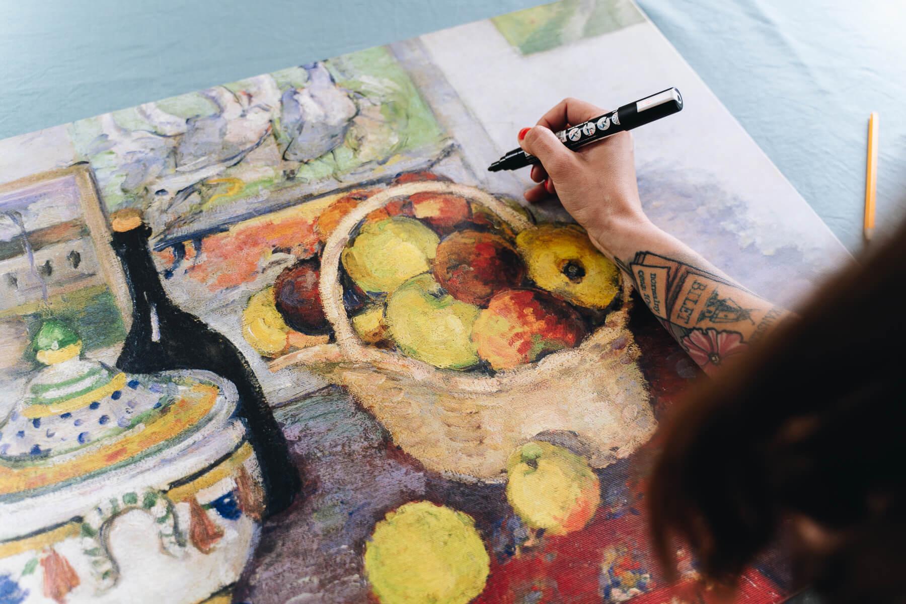 Paul Cezanne reprodukcja