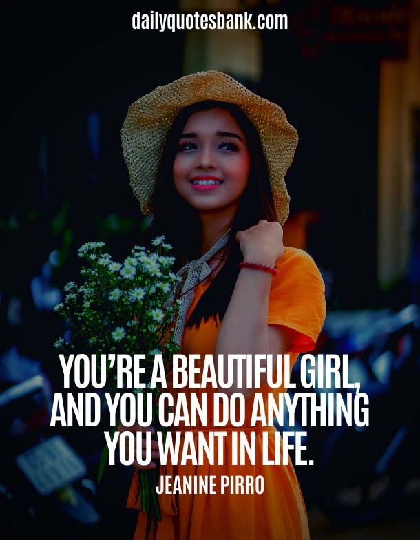 Life Quotes About Beauty Of Woman and Girl