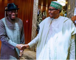 Buhari, Johnathan meets