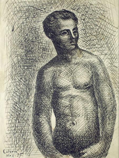 Dibujo sin titulo 1937