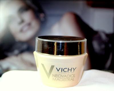 Crema Neovadiol Magistral de la Vichy, pentru doamnele de +50. Review.