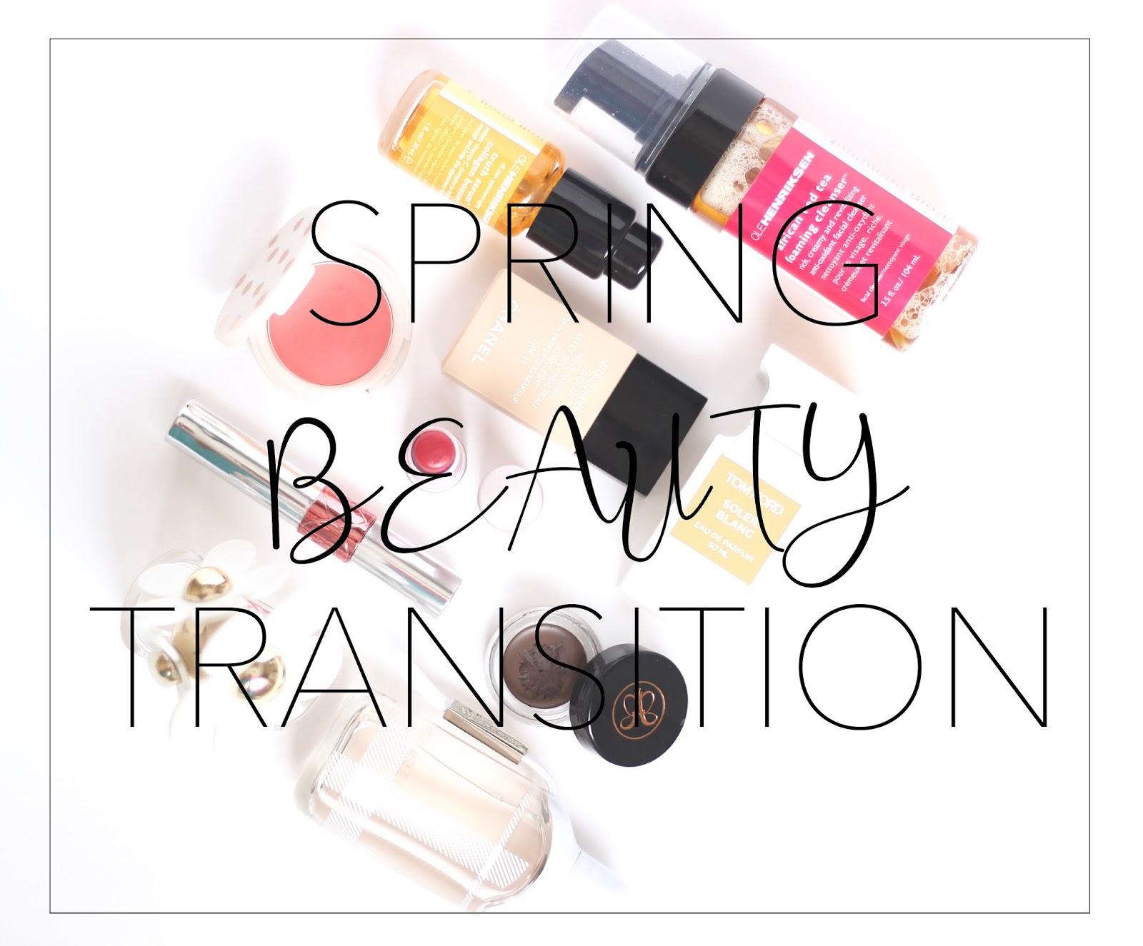 Spring Beauty Transition