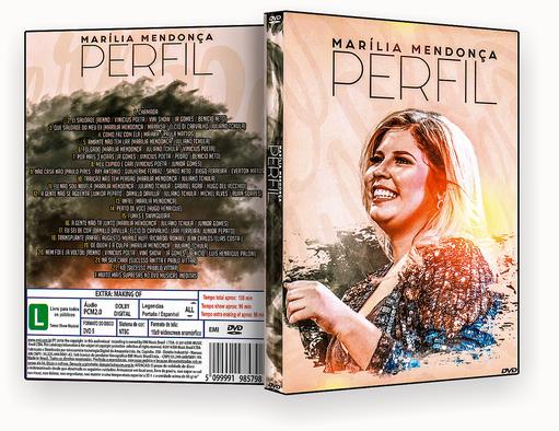 MARILIA MENDONÇA PERFIL – ISO – CAPA DVD