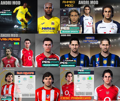 PES 2021 Classic FacePack by Andri Mod