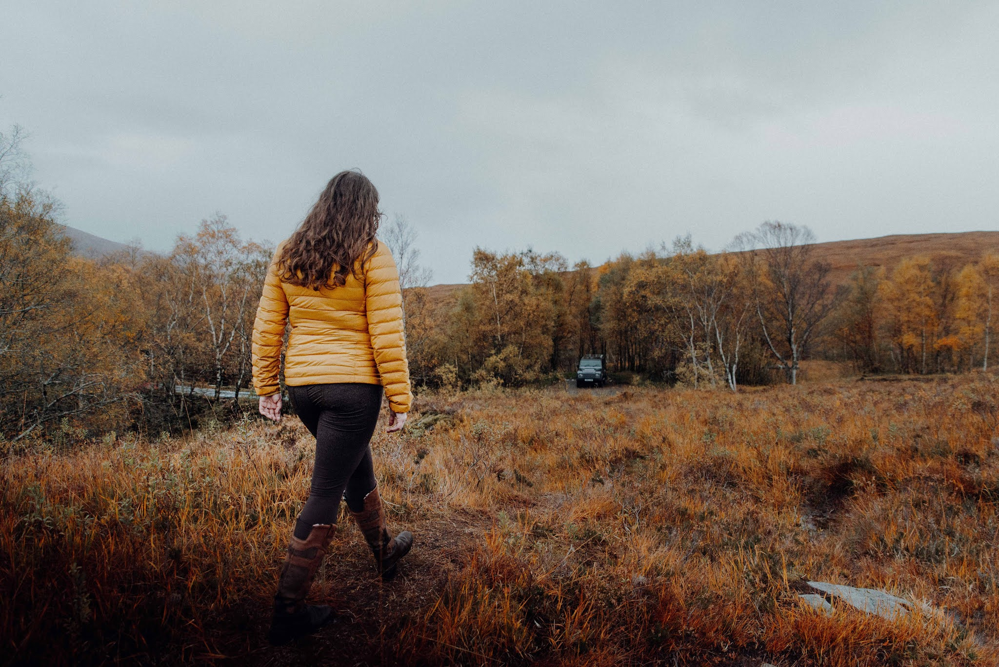 moor glencoe scotland stroll liquid grain