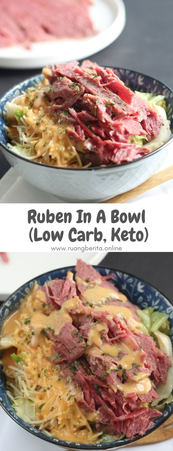 Ruben In A Bowl (Low Carb, Keto) #maincourse #ruben #inabowl #lowcarb #keto