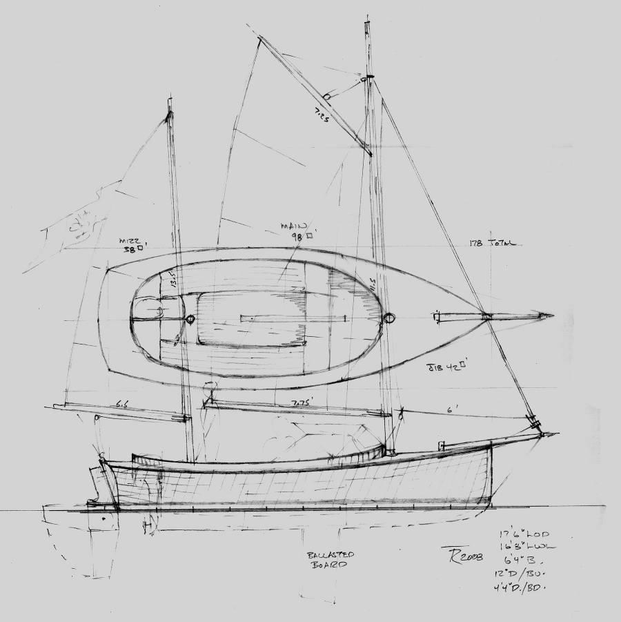 small sailboat design plans