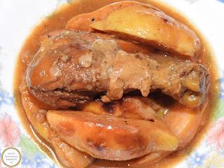 Mancare de gutui cu carne de pui reteta,