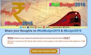 Rail Budget 2016 Opinion Share option public