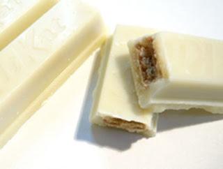 galleta y chocolate blanco