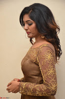 Eesha looks super cute in Beig Anarkali Dress at Maya Mall pre release function ~ Celebrities Exclusive Galleries 073.JPG