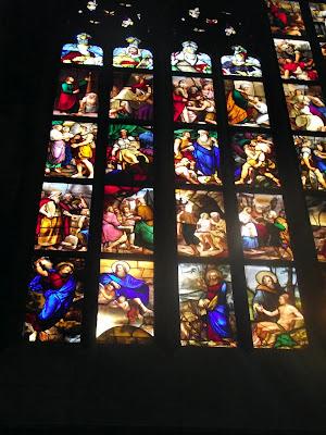 vidrieras catedral de Milán