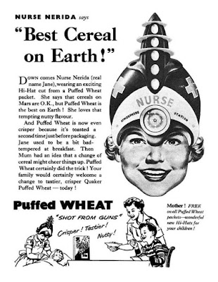 Puffed Wheat -- Nurse Nerida