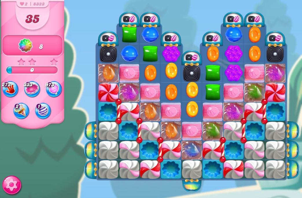 Candy Crush Saga level 8323