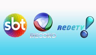 SBT, RECORD TV E REDETV! SAIRÃO DO AR NA TV PAGA