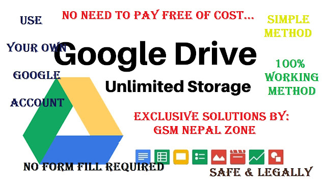 How to Get Shared Google Drive Unlimited Storage Free| Lifetime [2020 Updated]