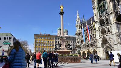 Marienplatz - Mariensäule