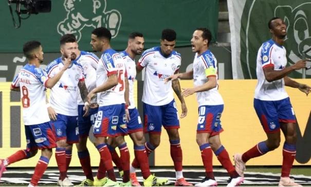 Palmeiras vence o Bahia pelo Brasileirão