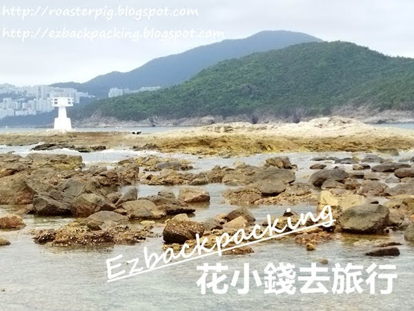橋咀行山:連島沙洲菠蘿包石橋頭看燈塔